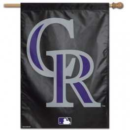 "28"" x 40"" Colorado Rockies Banner- CR"
