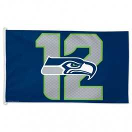 3' x 5' Seattle Seahawks Flag- 12th Man