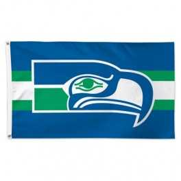 3' x 5' Seattle Seahawks Flag- Retro