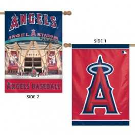 "28"" x 40"" LA Angels Banner- Double Sided"