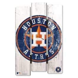 Wooden Fence Sign- Houston Astros