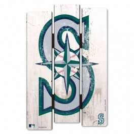 Wooden Fence Sign- Seattle Mariners