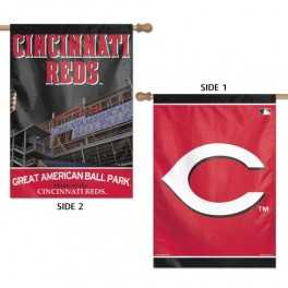 Cincinnati Reds Banner- Double Sided