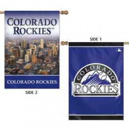 Colorado Rockies Banner- Double Sided