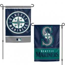 "12"" x 18"" Seattle Mariners Garden Banner"