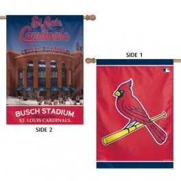 """28"""" x 40"""" St. Louis Cardinals Double Sided Banner"""