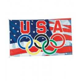 3' x 5' USA Olympic Nylon Flag