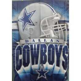 "27"" x 37"" Dallas Cowboys- Helmet"