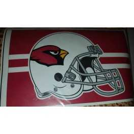 3' x 5' Arizona Cardinals Helmet Flag