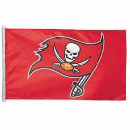 3' x 5' Tampa Bay Buccaneers Flag- Red