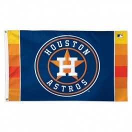 3' x 5' Houston Astros Flag- Circle