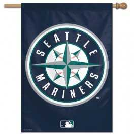 "28"" x 40"" Seattle Mariners Banner- Circle"