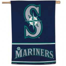 "28"" x 40"" Seattle Mariners Banner- S"